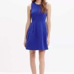 Madewell Blue Sleeveless A-line Dress Size small
